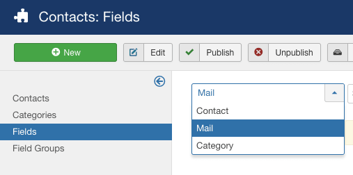 Adding extra fields to the Joomla contact form   3